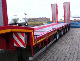 Низкорамный  трал 20-25 тонн