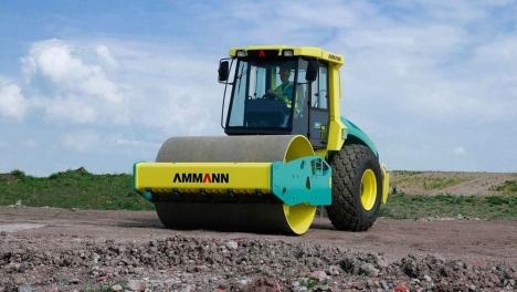 Аренда грунтового катка AMMANN AC-120 14 тонн