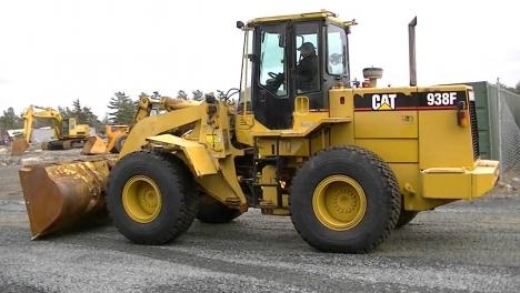 Аренда фронтального погрузчика CAT 938