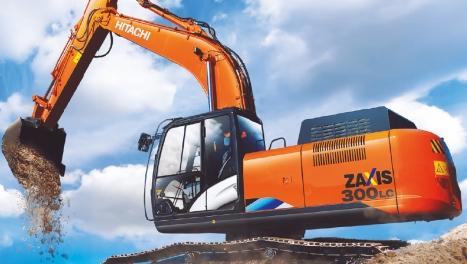 Аренда гусеничного экскаватора Hitachi ZX300