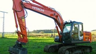 Аренда гусеничного экскаватора Hitachi ZX160LC-5G