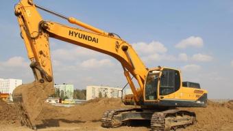 Аренда гусеничного экскаватора Hyundai 330 LC-9S