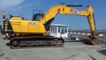 Аренда гусеничного экскаватора JCB JS 210 LC