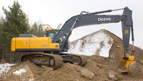 Аренда гусеничного экскаватора John Deere E210 LC