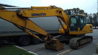 Аренда гусеничного экскаватора Komatsu 220