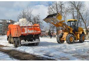 Вывоз снега c утилизацией