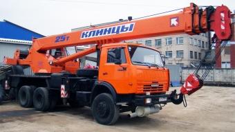 Аренда автокрана Клинцы - 25 тонн