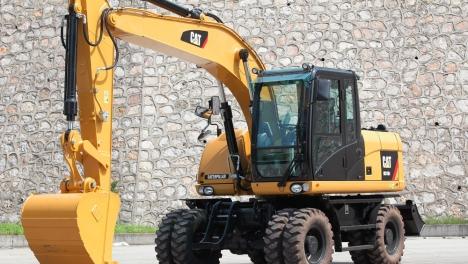 Аренда колесного экскаватора Cat M317D2