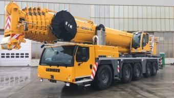 Аренда автокрана Liebherr LTM 1250 - 250 тонн