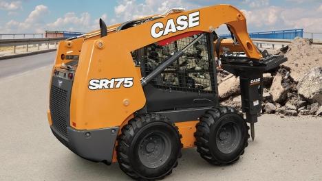 Аренда мини-погрузчика CASE SR175