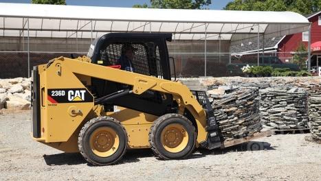 Аренда мини-погрузчика CAT 236D3