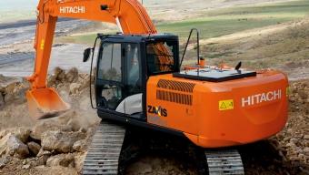 Аренда гусеничного экскаватора Hitachi ZX180LCN-5G