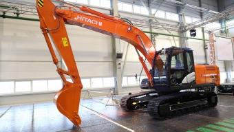 Аренда гусеничного экскаватора Hitachi ZX200-5G
