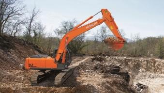 Аренда гусеничного экскаватора Hitachi ZX210LCN-G
