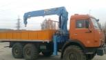 Аренда манипулятора 7 тонн КАМАЗ-43118 Вездеход