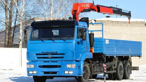 Аренда манипулятора 7 тонн КАМАЗ-65117