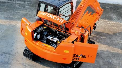 Аренда мини-экскаватора Hitachi ZX70-5G