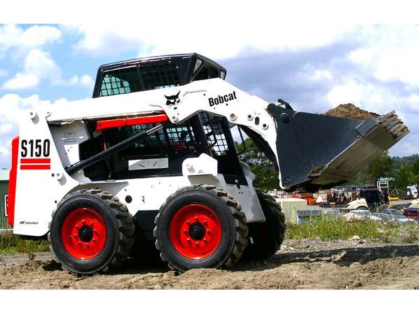 Аренда мини-погрузчика Bobcat S150