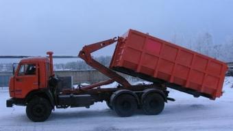 Бункеровоз КАМАЗ Мультилифт - 27 м3 (16 тонн)