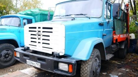 Бункеровоз ЗИЛ - 8м3 (5 тонн)