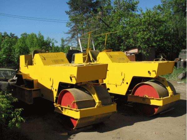 ДУ-47 дорожный каток - 7,5 тонн