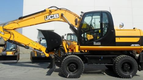 Аренда колесного экскаватора JCB JS 160W