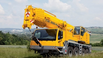 Liebherr LTM 1100 - 100 тонн