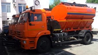 На базе КАМАЗ 4325 - (8 м3)