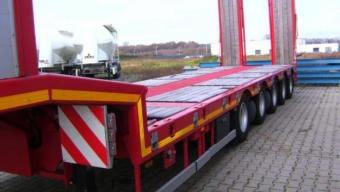 Низкорамная платформа (20-25 тонн)
