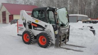 Аренда мини-погрузчика Bobcat S530